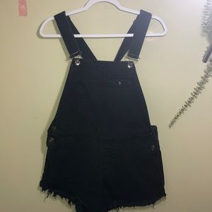 BDG Black Shorts Overall small